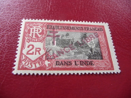 TIMBRE   INDE   FRANCE  LIBRE     N  168   COTE  7,40  EUROS   NEUF  TRACE   CHARNIÈRE - Unused Stamps