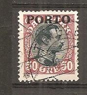 Dinamarca-Denmark Yvert Nº Tasa-7 (usado) (o) - Port Dû (Taxe)