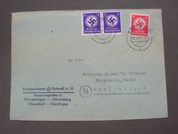 DR Brief 1940 Rottweil - Deutschland