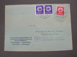 DR Brief 1940 Rottweil - Allemagne