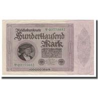 Billet, Allemagne, 100,000 Mark, 1923, 1923-02-01, KM:83b, TTB+ - [ 3] 1918-1933 : República De Weimar