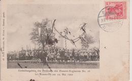 57 - REZONVILLE - FETE AU MONUMENT DU 16° RGT. DE HUSSARDS LE 10.05.1902 - France