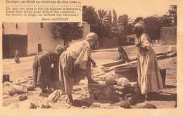 Algerie Poeme Poesie De Pierre Aguetant Laveurs Negres - Algérie