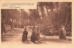 Algerie Poeme Poesie De Pierre Aguetant Un Carrefour Dans L' Oasis - Algérie