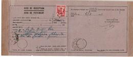 LCTN59/LE/PM - TUNISIE AVIS DE RECEPTION JUILLET / AOÛT 1941 - Tunesien (1888-1955)