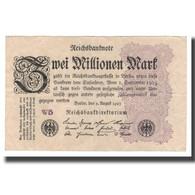 Billet, Allemagne, 2 Millionen Mark, 1923, 1923-08-09, KM:104d, TB+ - 1918-1933: Weimarer Republik