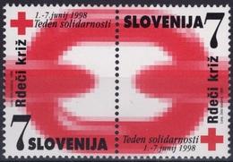 SLOVENIE SLOVENIA SLOVENIJA Bienfaisance 16 Et 17 ** MNH Croix-Rouge Rdeci Kriz Red Cross 1998 - Slovenia
