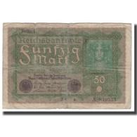 Billet, Allemagne, 50 Mark, 1915-1919, 1919-06-24, KM:66, B+ - [ 3] 1918-1933 : República De Weimar