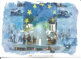 """88 - Epinal - Carte De Voeux Publicitaire """"Simonin S.A"""" - Epinal"""