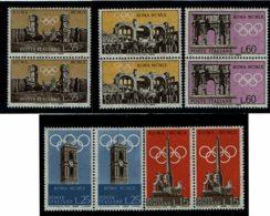 1959 - Italie - XVIIe Jeux Olympiques à Rome En 1960 - Tp N° 788 à 792 - 1946-60: Ungebraucht