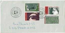 1975 - ARPHILA 75 Au Grand Palais Paris - Timbres De L'exposition N° 1830 à 1833 - Cachets Commémoratifs