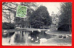 Willebroeck. Parc Du Château De Louis De Naeyer. Au Fond Chalet Cascade. 1911 - Willebroek