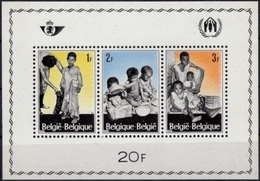 BELGIQUE Bloc 43 ** MNH En Faveur Des Réfugiés Refugees Campagne En Leur Faveur 1967 - Flüchtlinge