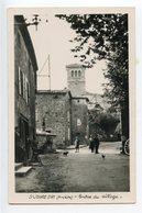 Saint Jeure D'Ay Entrée Du Village - France