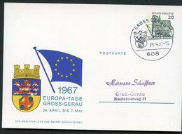 STADTWAPPEN GROS-GERAU Sost.1967  Bund PP36 D2/005 NGK 7,00 € - Briefe U. Dokumente