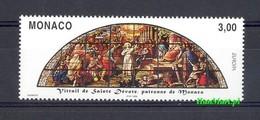 Monaco 1998 Mi 2403 MNH ( ZE1 MNC2403 ) - Vetri & Vetrate
