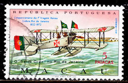 !■■■■■ds■■ Macao 1972 AF#430ø Gago Coutinho Fly Over The Ocean (x12806) - Used Stamps