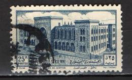 SIRIA - 1952 - PALAZZO DI GIUSTIZIA A DAMASCO - USATO - Siria