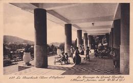 63 La Bourboule, Parc D'Enfants, La Terrasse Du Grand Pavillon - La Bourboule