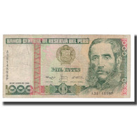 Billet, Pérou, 1000 Intis, 1988, 1988-06-28, KM:136b, B+ - Perú