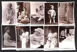 British Royalty Lascelles 10 Vintage Real Photo Postcards - Königshäuser