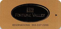 Fortune Valley Casino Central City, CO Hotel Room Key Card - Hotelkarten