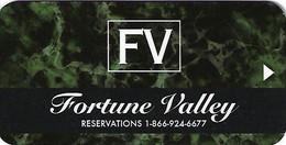 Fortune Valley Casino Central City, CO Hotel Room Key Card - Chiavi Elettroniche Di Alberghi