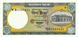 Bangladesh - 20 Taka - 2009 - Unc. - Pick 48.c -  Sign. 10 - Bangladesh