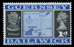 GUERNSEY 1969 Nr 9II Postfrisch X871322 - Guernesey