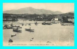 A766 / 457 64 - SAINT JEAN DE LUZ Le Port Les Deux Ponts Et La Rhune - Saint Jean De Luz
