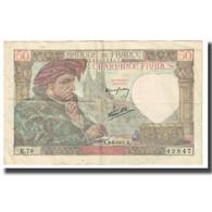 France, 50 Francs, Jacques Coeur, 1941, P. Rousseau And R. Favre-Gilly - 1871-1952 Antichi Franchi Circolanti Nel XX Secolo