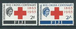 Fiji 1963 Red Cross Set 2 MNH - Fiji (...-1970)