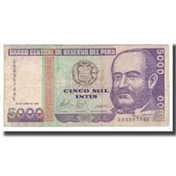 Billet, Pérou, 5000 Intis, 1988, 1988-06-28, KM:137, TB - Perú