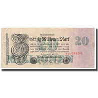 Billet, Allemagne, 20 Millionen Mark, 1923, 1923-07-25, KM:97a, TTB - [ 3] 1918-1933 : República De Weimar