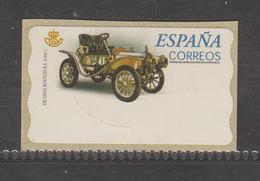 SPAIN, ATM, 1v, Vintage Cars, Blank, No Face Value, MNH** - Otros