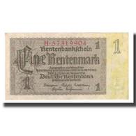 Billet, Allemagne, 1 Rentenmark, 1937, 1937-01-30, KM:173b, SPL - [ 3] 1918-1933 : República De Weimar