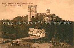 73602557 Pelm Ruine Casselburg Mit Forsthaus Restauration Pelm - Duitsland
