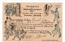 Bureau De Déshabillement - Ici On Fait Des Civils ! - TRAVAIL SOIGNÉ (G81) - Humoristiques
