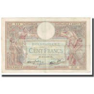 France, 100 Francs, Luc Olivier Merson, 1939, P. Rousseau And R. Favre-Gilly - 1871-1952 Antichi Franchi Circolanti Nel XX Secolo