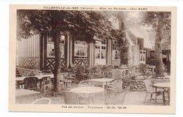 14 - VILLERVILLE Sur MER - Hôtel Des Parisiens - Chez MANU - Vue Des Jardins (G96) - Villerville