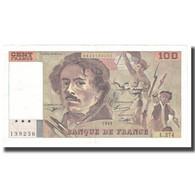 France, 100 Francs, Delacroix, 1995, BRUNEEL, BONARDIN, VIGIER, SUP - 1962-1997 ''Francs''