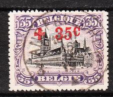 157  Croix-Rouge - Bonne Valeur - Oblit. Centrale ANDERLECHT 3 - LOOK!!!! - 1918 Croix-Rouge