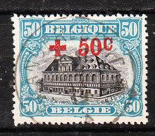 159  Croix-Rouge - Bonne Valeur - Oblit. Centrale ANDERLECHT 3 - LOOK!!!! - 1918 Croix-Rouge