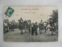 Souvenir De ROBINSON - La Course à ânes (très Animée) - Le Plessis Robinson