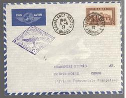 25264 -  AIR FRANCE - AEROMARITIME Pour Le CONGO - Marruecos (1891-1956)