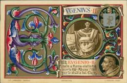 AK Papst Pope Pape Eugenius II Eugenio II (10505) - Päpste