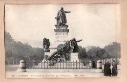 X46056 CAHORS 46-Lot Monument De GAMBETTA Par FALGUIERE 1914 à BONNAFOUS AGEN - NEURDEIN N°118 - Cahors