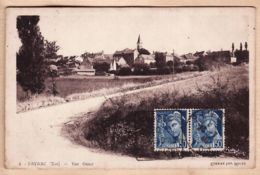 X46107 PAYRAC Entrée Village Vue Ouest DAGUIN 22.07.1940 De Robert CHRISTIAN à Rue Buisson Sannois  Peu Commun - France