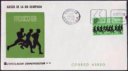 Mexico - 1968 H - Olympic Games 1968 - Cover - Athletics - Verano 1968: México