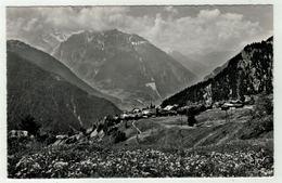 Suisse // Schweiz // Switzerland //  Valais // Verbier-Village Et Le Catogne - VS Valais
